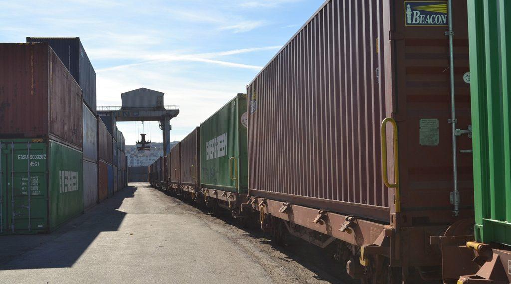 Kontejnerski prevoz i transport zeleznicom