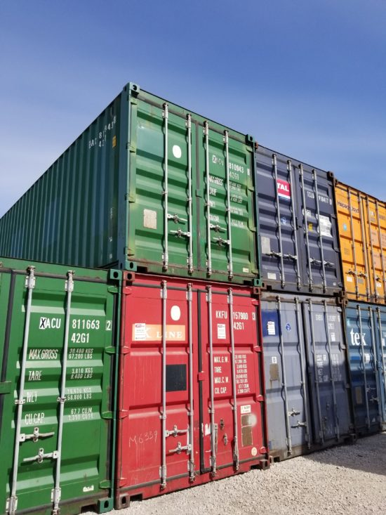 Skladište kontejnera Luka Beograd