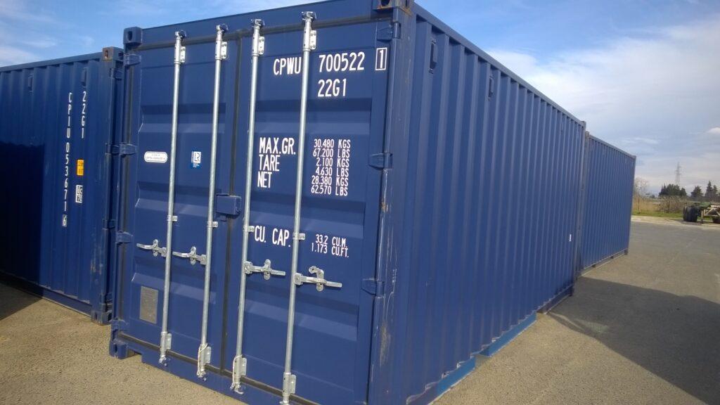 Radbljeni kontejner dobro očuvan