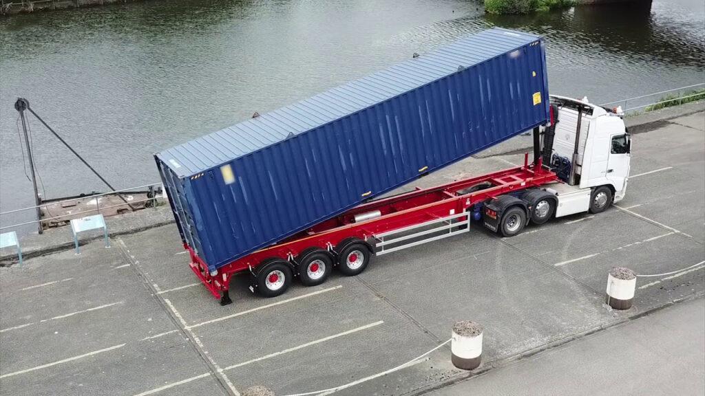 Transport kontejnera 40ft do željene adrese